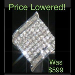 Jewelry - ♦️SALE♦️FIRM DIAMOND Ring 1.50 cttw